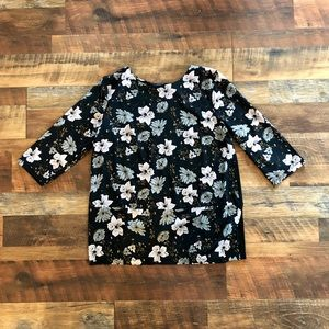 FRENCH CONNECTION Pretty Floral Tunic
